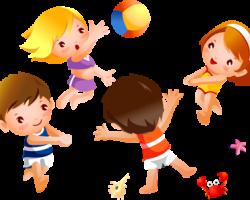 Игры с мячом для детей младшего возраста.