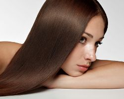 Креатиновое выпрямление волос