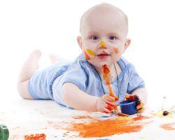 Рисуем с детьми красками