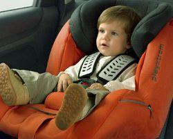 Малыш в машине: важные нюансы