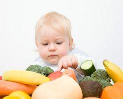Полезные свойства фруктов и овощей для детей