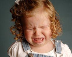 Как справляться с детской истерикой?