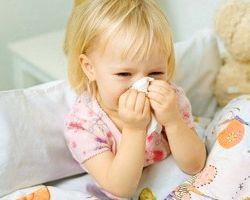 Насморк у ребенка и его лечение народными средствами