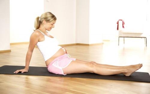 беременность, физические нагрузки