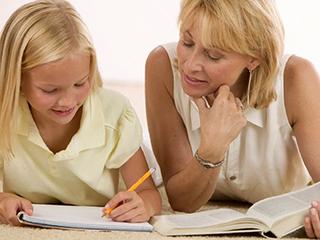 Ребенок, мама, текст, диктант, задание